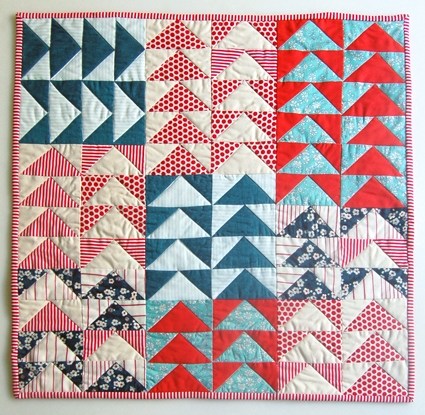 super simple flying geese quilt tutorial suzy quilts Interesting Quilting Flying Geese Pattern Gallery