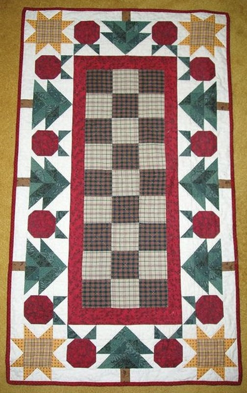 thimbleberries christmas apple quilt runner pattern wall Modern Thimbleberry Quilt Patterns Inspirations