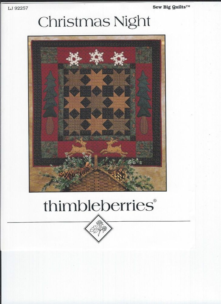 thimbleberries christmas night quilt pattern with images Modern Thimbleberry Quilt Patterns Inspirations