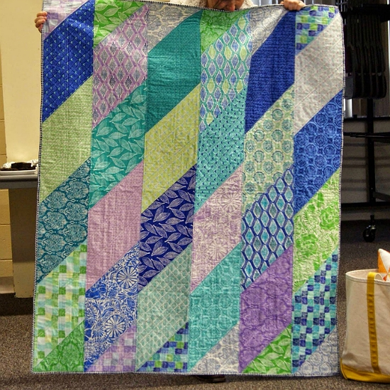 this fat eighth quilt is super fast and easy quilting digest Cool Quilt Patterns Using Fat Eighths Inspirations