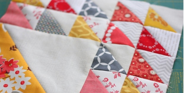 time saving tips for half square triangles quilting digest Modern Quilting Triangles Tips