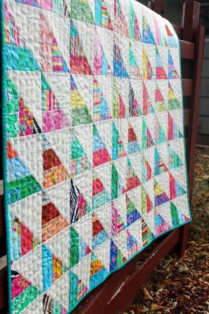 to the point a quick n easy jelly quilt tutorial Cozy Jelly Rolls Quilt Patterns Inspirations