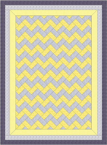triangle free chevron quilts ie zig zag chevron quilt Elegant Chevron Quilt Pattern Using Rectangles