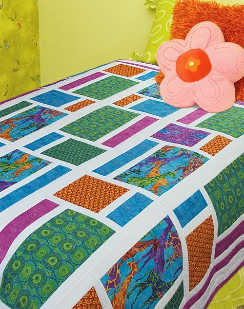 tribal modern heidi pridemore from quilt trends Stylish Modern Quilt Trends Gallery