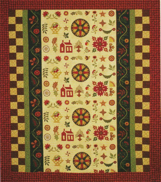 vintage find queen in a day quilt pattern thimbleberries thimbleberries lynette jensen Modern Thimbleberry Quilt Patterns Inspirations