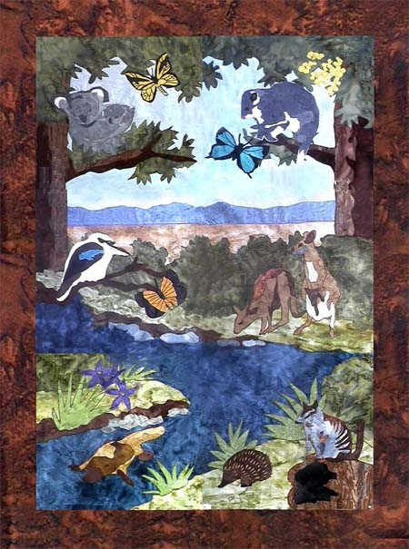 winddancer australian bush animals quilt patterns and kits Cozy Australian Quilt Patterns Gallery
