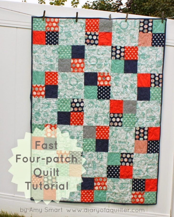 wonderful easy 3 color quilt patterns our amish made nine Cozy Easy 3 Color Quilts Inspirations