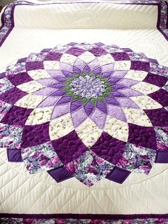 amish quilt giant dahlia pattern quilts quilt patterns 10 Cozy Giant Dahlia Quilt Pattern Gallery