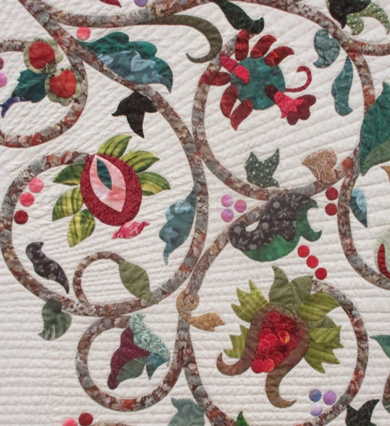 Beautiful barbara brackmans material culture patricia campbells Stylish Pat Campbell Applique Quilt Pattern