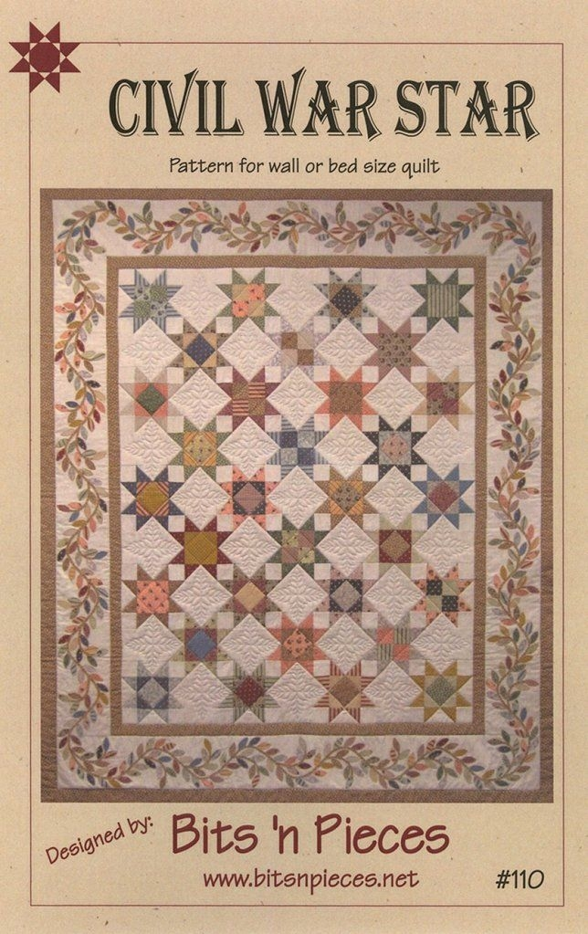 Beautiful civil war star civil war quilts quilt patterns book quilt 10 New Quilting Books And Patterns Inspirations