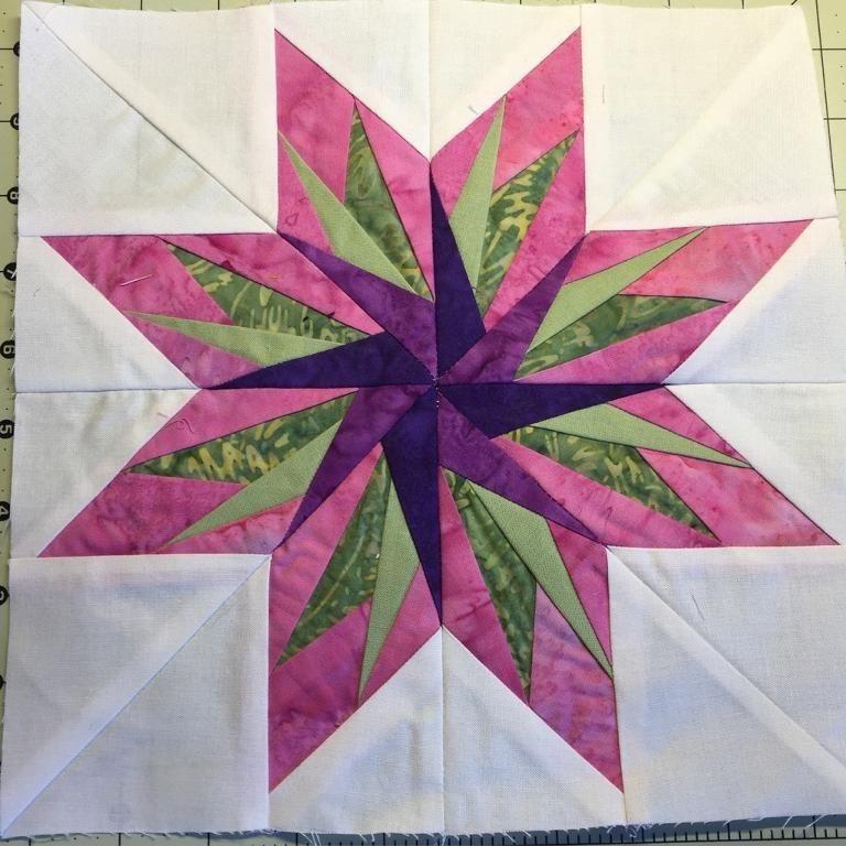 Beautiful free quilt pattern bird of paradise paper piecing paper Modern Bird Of Paradise Quilt Pattern Inspirations