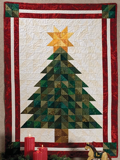 Beautiful oh christmas tree wall hanging pattern 10 Cool Pieced Tree Quilt Patterns Inspirations