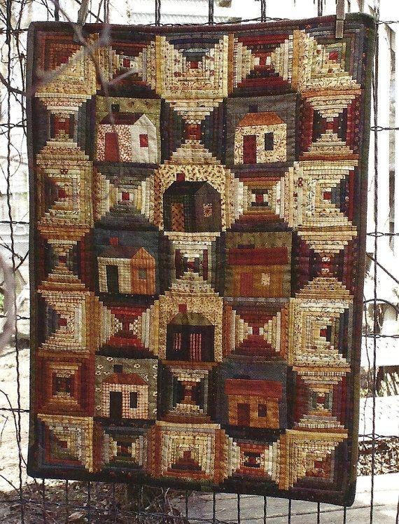 Beautiful primitive folk art quilt pattern all around Cozy Country Primitive Quilt Patterns Inspirations