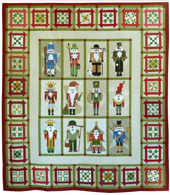 classic nutcrackers complete pattern set 10 Interesting Nutcracker Quilt Pattern Inspirations