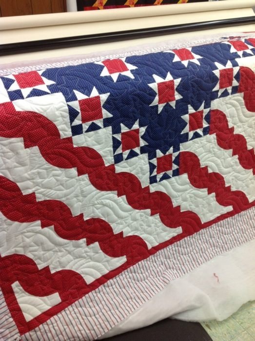 Cool get inspired with these patriotic quilts this independence 10   Patriotic Quilt Fabric Inspiration Gallery
