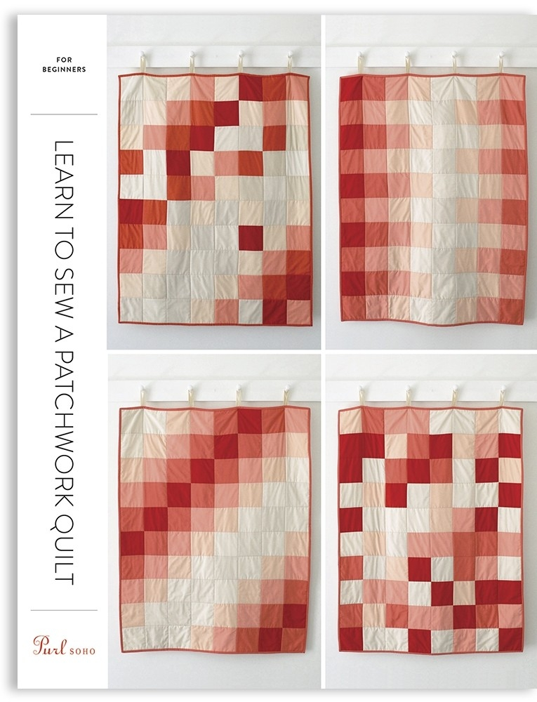 Cool purl soho learn to sew a patchwork quilt pattern pdf Patchwork Quilt Patterns