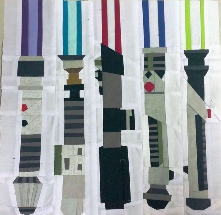 Cool star wars inspired design challenge star wars quilt 9   Unique Star Wars Quilting Fabric Inspiration Gallery