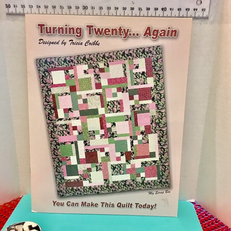 Cool turning twenty again quilt patterns tricia cribbs 2005 like new 11 Elegant Turning Twenty Again Quilt Pattern Gallery
