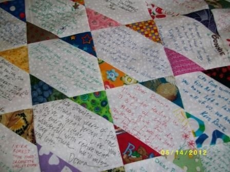 Cool visit the site and there is another great quilt to see Stylish Signature Quilt Block Pattern Inspirations
