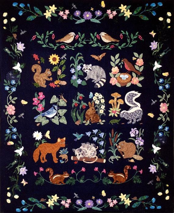 Cool woodland creatures collector quilt patterns rosemary makhan 11 Cozy Woodland Creatures Quilt Pattern Inspirations