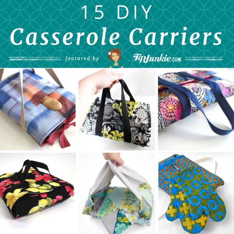 Cozy 15 diy casserole carriers tip junkie 10 Cool Quilted Casserole Carrier Pattern Inspirations