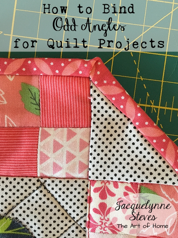 Cozy binding odd angles tutorial jacquelynne steves 10 Beautiful Sewing Binding On Quilt Corners