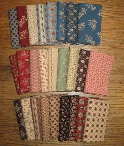 Cozy civil war melodies new civil war era reproduction fabric 9 Beautiful Vintage Quilting Fabrics For Sale Gallery