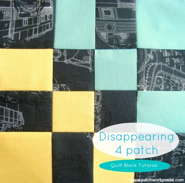 Cozy disappearing 4 patch quilt block tutorial 10 Modern Disappearing 4 Patch Quilt Patterns Gallery