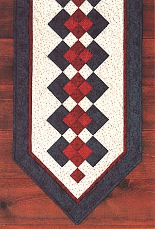 Cozy free table runner patterns quilt patterns for the table 10   Quilted Tablecloth Patterns Gallery
