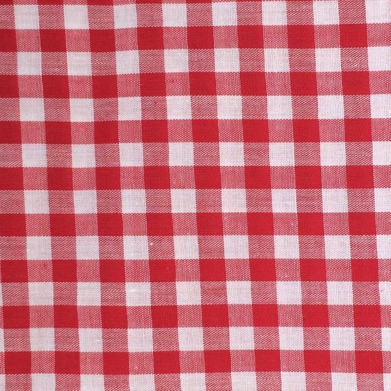Cozy gingham fabric red gingham fabric quilting fabric red and white gingham fabric cotton fabric red and white check 10 Stylish Gingham Quilting Fabric Inspirations