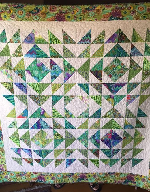 Cozy magnificent sew a block quilt ideas triangle quilt half 11 Modern Triangle Free Quilts Inspirations