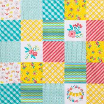 Cozy modern cheater quilt cotton fabric hob lob 1765999 9 Beautiful Cheater Quilt Fabric Inspirations