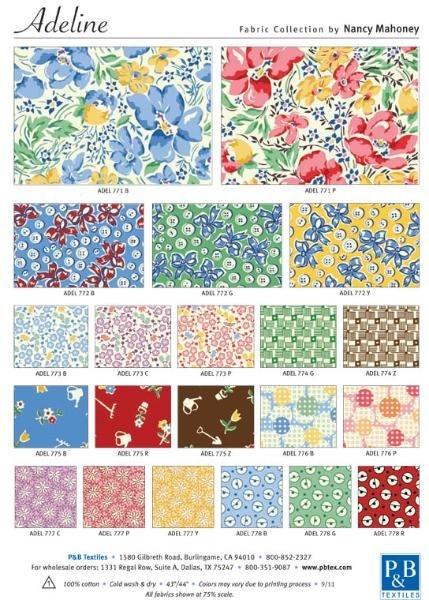 Cozy nancy mahoney 30s fabrics patchwork fabric vintage fabric 11 Interesting Vintage Quilt Fabric Gallery