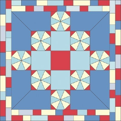 Cozy quilted tablecloth patterns howstuffworks 10   Quilted Tablecloth Patterns Gallery