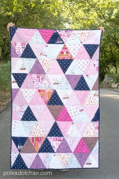 Elegant 45 easy beginner quilt patterns and free tutorials polka 9 Interesting Different Quilting Patterns