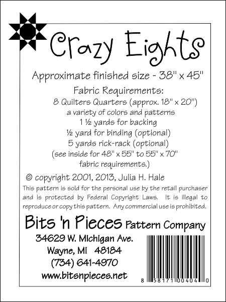 Elegant crazy eights 11 Unique Crazy Eight Quilt Pattern Gallery