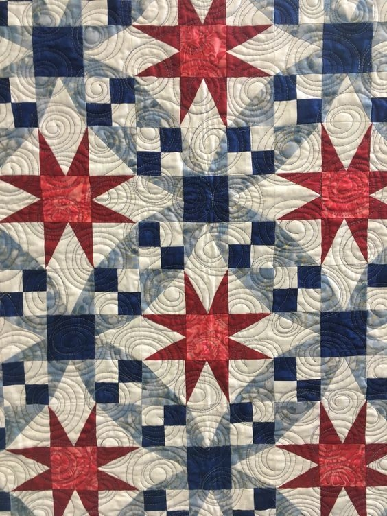 Elegant galaxy is one of those quilts that looks difficult to make Beautiful Difficult Quilt Patterns Inspirations