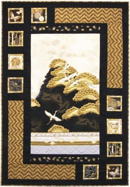 Elegant quilt pattern sweet tea girls oriental harmony with 10 Elegant Beautiful Oriental Fabric Panels For Quilting Ideas