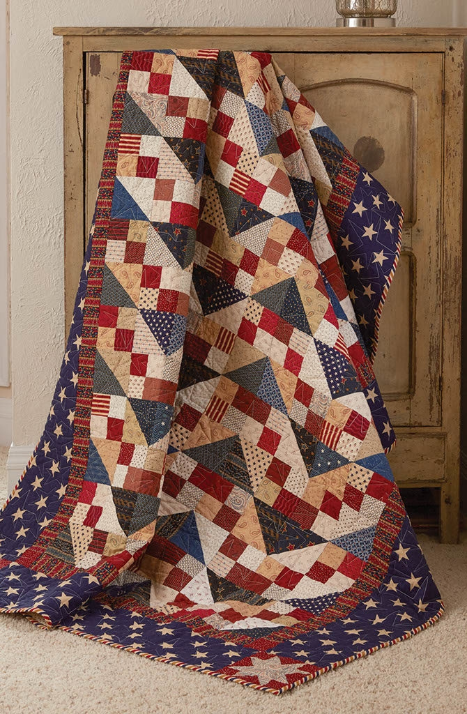 Elegant saluting you quilt fons porter quilting daily 10 Cool Best Of Fons And Porter Patriotic Quilts Inspirations