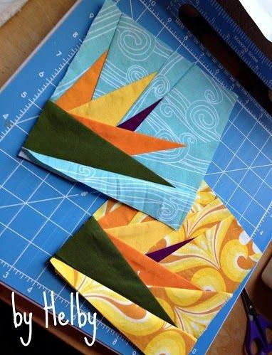 Interesting bird of paradise quilt blocks free paper piecing patterns Modern Bird Of Paradise Quilt Pattern Inspirations
