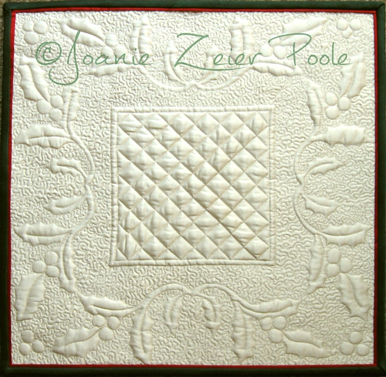 Interesting downloadable holly square wholecloth quilt pattern 10 Modern Wholecloth Quilt Patterns Inspirations