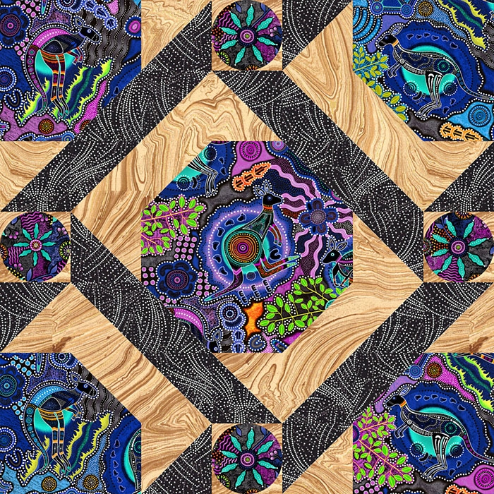 Interesting free pattern walkabout ii equilter blog 10 Interesting Quilt Patterns Australia Inspirations