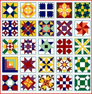 Interesting quilt block patterns to color my quilt pattern painted New Barn Quilt Patterns Meanings Gallery