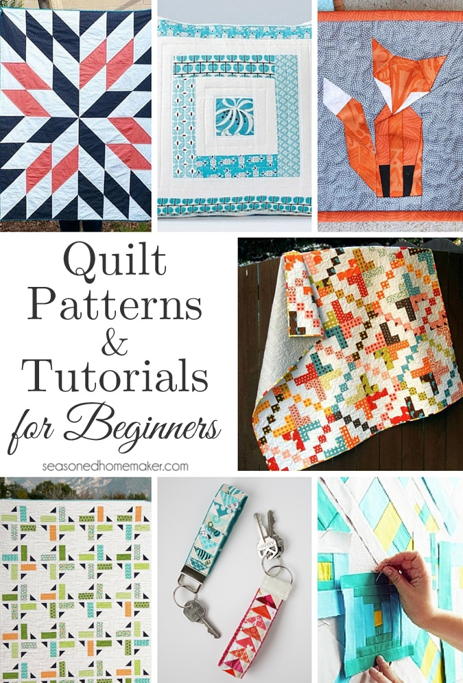 Interesting quilt patterns and tutorials for beginners 10 New Most Common Quilt Patterns Inspirations
