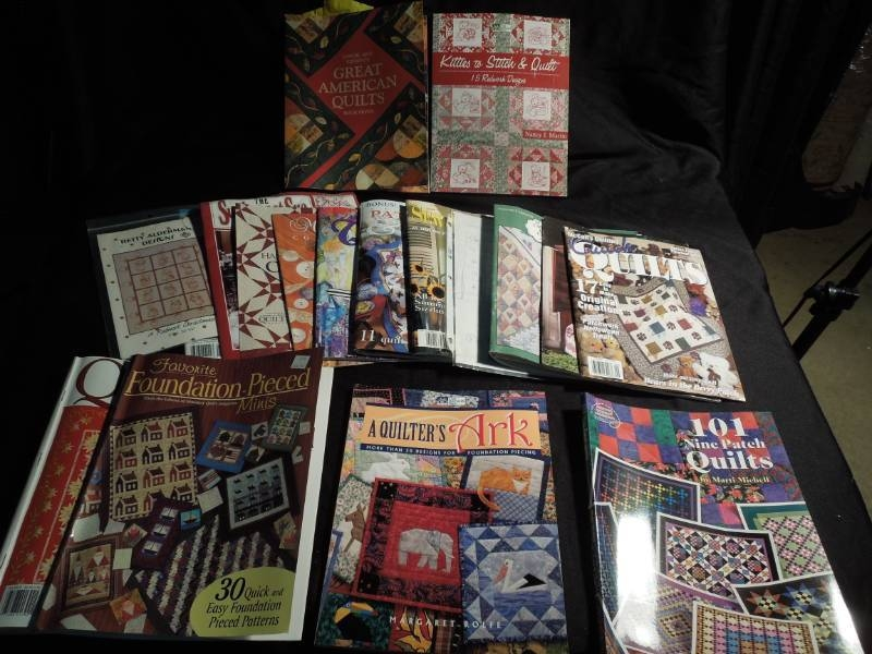Interesting quilting books patterns magazines you never know what 10 New Quilting Books And Patterns Inspirations