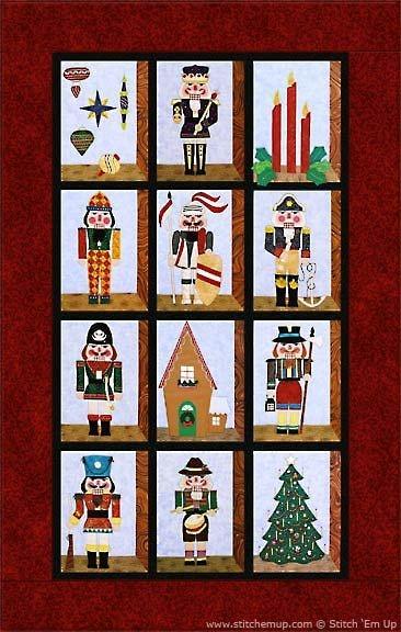 Modern 49 all the kings men nutcracker applique quilt pattern 10 Interesting Nutcracker Quilt Pattern Inspirations