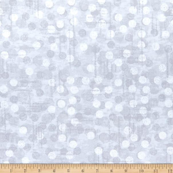 Modern blank quilting jot dot ii dot texture fog 11 New Blank Quilting Fabric Inspirations