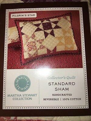 Modern new martha stewart pligrims star quilted standard sham 9 Modern Martha Stewart Quilt Patterns Gallery