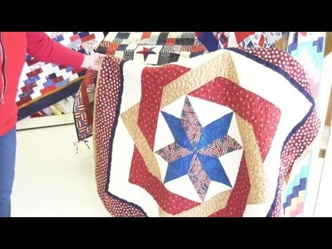 Modern patriotic quilts for retired veterans in butte sought 10 Cool Best Of Fons And Porter Patriotic Quilts Inspirations