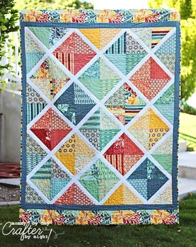 Modern salt air quilt pattern free layer cake quilt patterns 10   Quilted Tablecloth Patterns Gallery